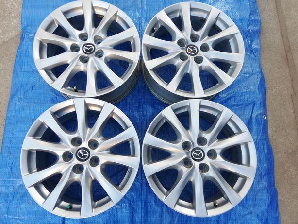 Felgi aluminiowe 17 5x114,3 Mazda 3 5 6 CX-3 CX-5 CX-7 Honda Nissan