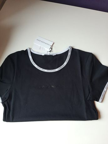 Nowa koszulka Calvin Klein S czarna