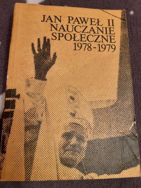 Nauczanie spoleczne Jan Paweł II