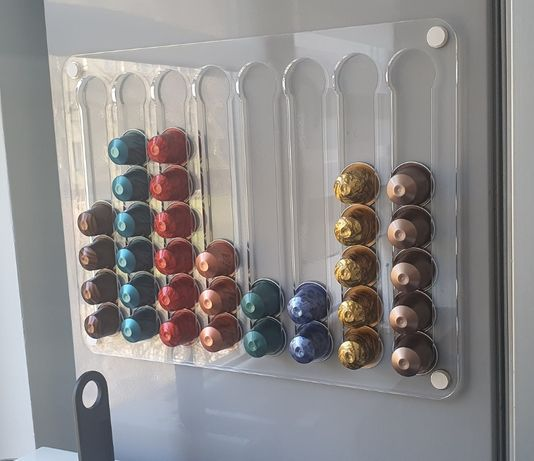 Nespresso magnetic cup holder 8x7