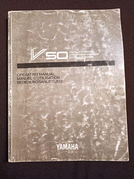 Yamaha V50 oryginalna instrukcja obsługi