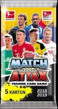 Karty Topps Match Attax Bundesliga 2018/19