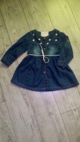 детское джинсовое платье НОВОЕ