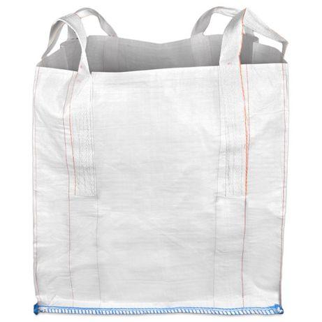 Big bag otwarta góra/płaskie dno 95x95x100 cm ! Nowy worek !
