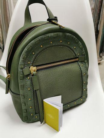Новый кожаный рюкзак Fossil