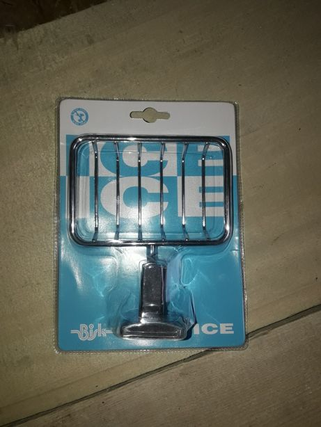 Mydelniczki chromowane Bisk ice 30 szt.