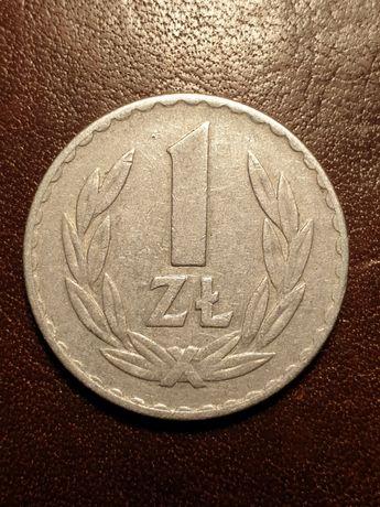 Moneta PRL 1 złoty - 1971 rok