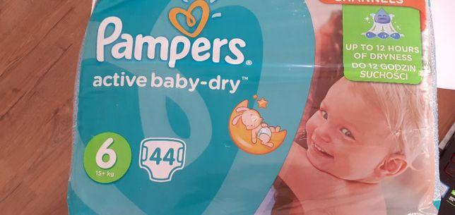 Pieluszki Pampers active baby-dry rozm. 6 44szt.