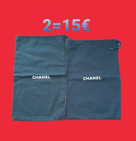 Dust bag saco chanel dior prada