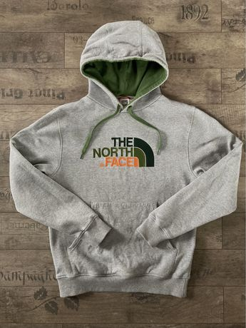 Bluza z kapturem kangurek The North Face kangurka szara Size M
