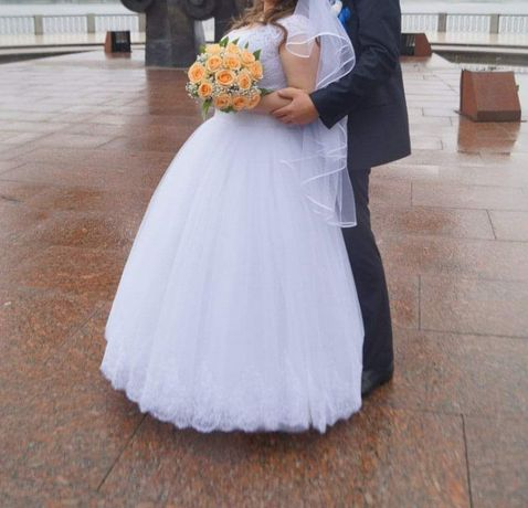 Счастливое свадебное платье!:)
