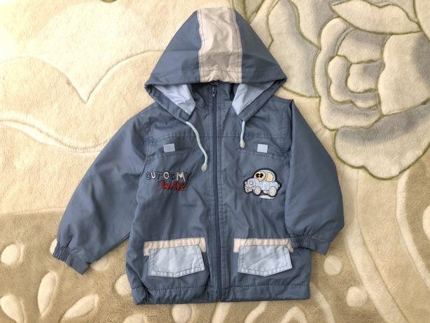 Демисезонная куртка на мальчика 2-3 года