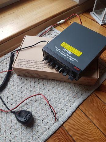 Intel HR 5500 28 Mhz AM FM SSB CW HF TRANSCEIVER  cb radio