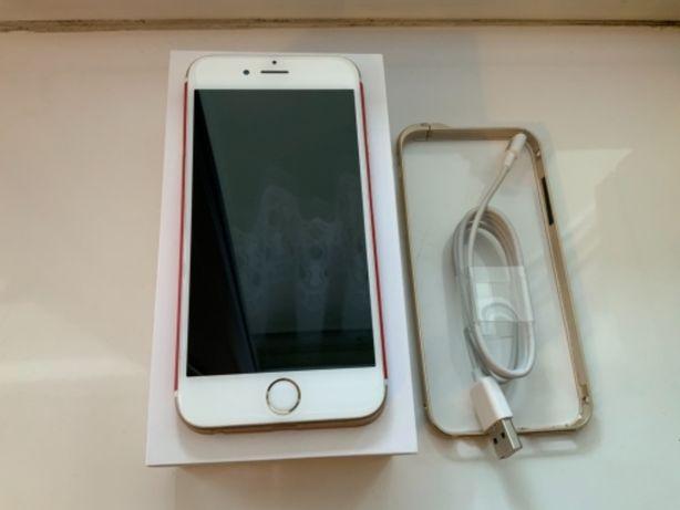 iPhone 6S 32GB GOLD bez blokad, nowy glass i ramka, folia dbrand.com