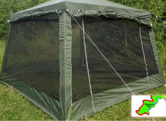 Палатка тент шатер туристический 3.20 х 3.20 х 2.35
