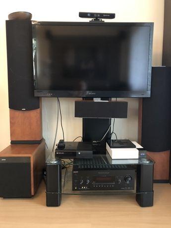 Kino domowe głośniki Jamo amplituner Sony