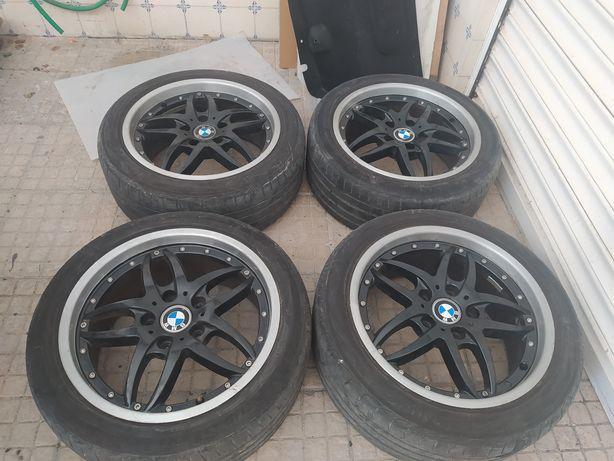 Jantes 8x17 para BMW com pneus