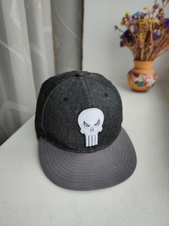 Кепка бейсболка New Era Marvel The Punisher коллекц. 59 fifty