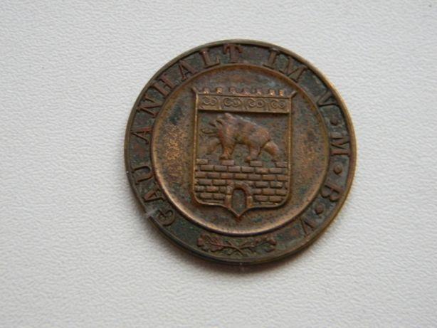 Medal Gau Anhalt 30.3. 1930 bieg leśny