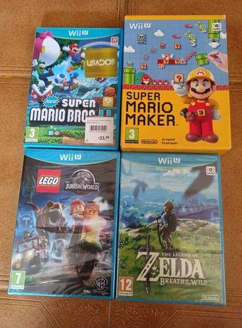 Jogos para Nintendo Wii-U - Marios, Zelda, Lego - Vendo em separado