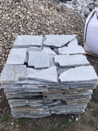 Kamień ELEWACYJNY ŚCIEŻKOWY Łupek Ozdobny Płyty Ścieżkowe Deptakowe