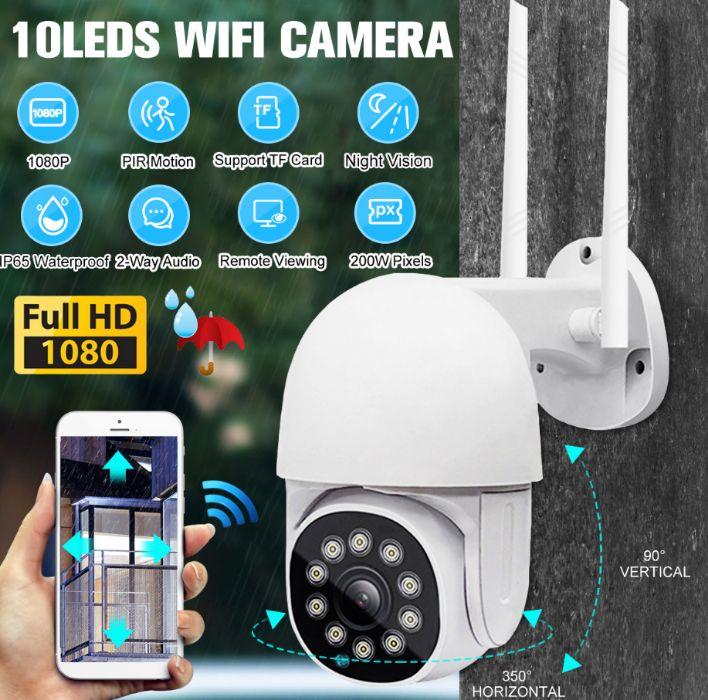 Câmera Vídeo Vigilância WIFI 1080P Exterior Rotativa 3MP Viana Do Castelo (Santa Maria Maior E Monserrate) E Meadela - imagem 1