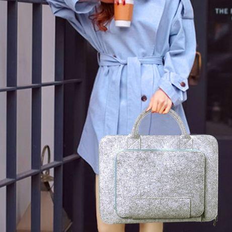 Super torba dla laptopa Apple Macbook Pro Torebka Etui Pokrowiec filc