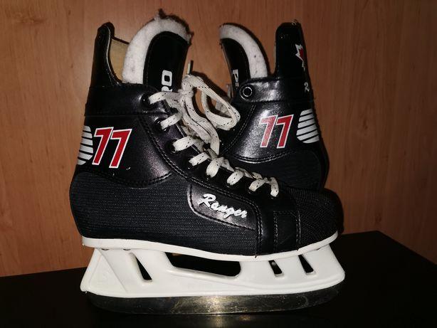 Łyżwy Ranger 77 Pro roz.37/38/24cm,hokejowe,Kanada,ccm,bauer,rolki