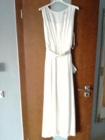 Biała Sukienka Długa suknia