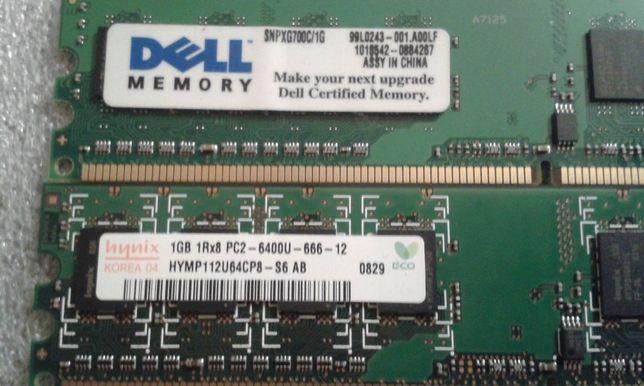 Pamięć RAM 1GB 1Rx8 PC2 - 6400U