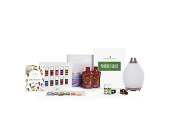 Kit difusor e óleos essenciais puros Young Living Novo