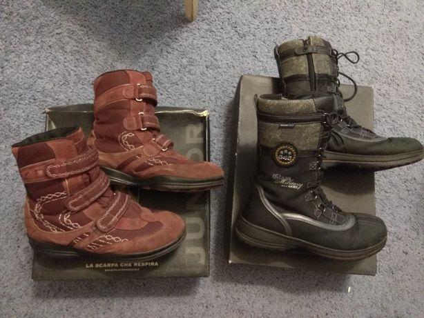 Сапоги ,ботинки Geox детские зимние ,для девочки 38 размер