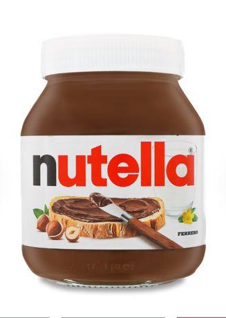 Шоколадная паста Нутелла NUTELLA 450г (т.е. 200, 500, 600 и 825гр)