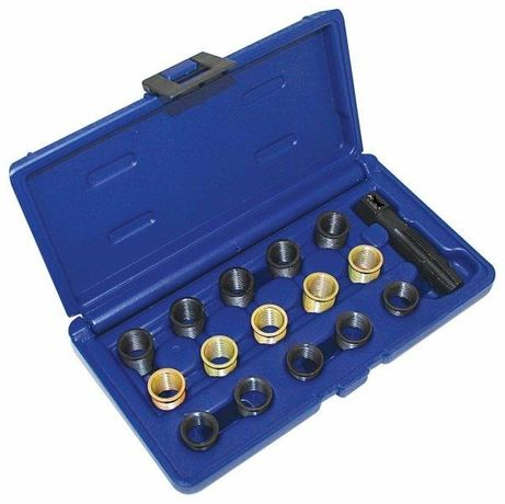 Kit de Reparação de Roscas de Velas Ignição