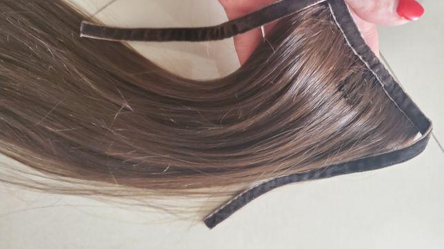 шиньен из словянских волос 37см 45грамм