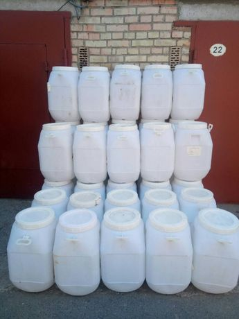 Бочка 50 - 60 литров бочки пластиковые тара