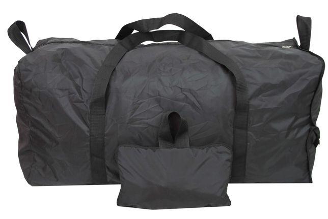 Большая складная сумка Баул 105 л Wallaby 28270 черная