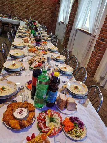 Usługi cateringowe, catering, komunia, wesele, chrzciny, kawalerski
