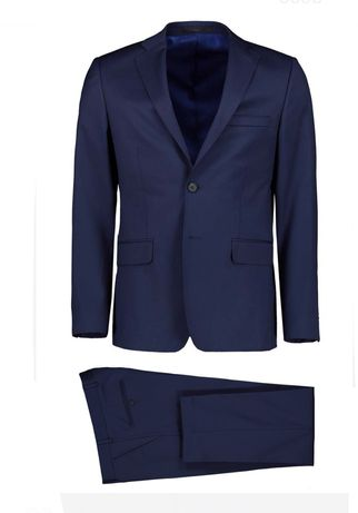 Garnitur Marynarka plus spodnie Lavard 34832 Milano Sllim XL