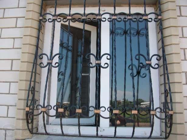 Решётки на окна Двери входные металлические