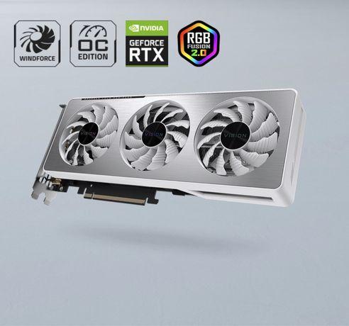 Karta graficzna: Gigabyte GeForce RTX 3060 VISION OC 12G 12GB WHITE