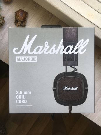 Наушники Marshall Major 3, brown