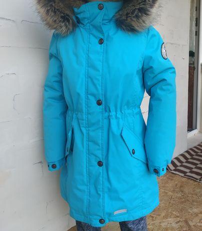 Зимняя куртка, парка lenne, рост 146