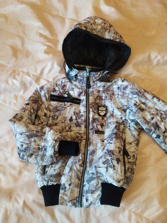 Продам курточку на осень (мальчик) 7-8 лет