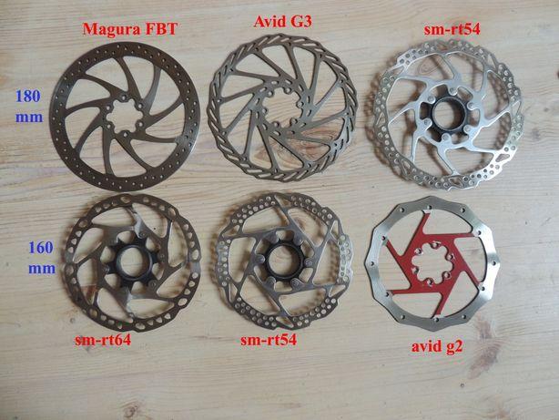 Роторы Avid Shimano Magura