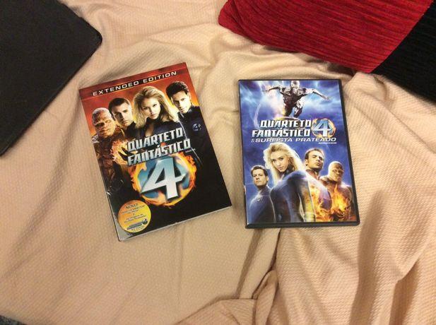 Quarteto Fantastico dvd's