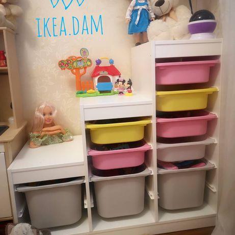 В наявності Стелаж, полка, шкаф для игрушек Trofast ikea.