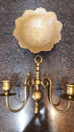 Бра канделябр подсвечник ваза фруктовница латунь