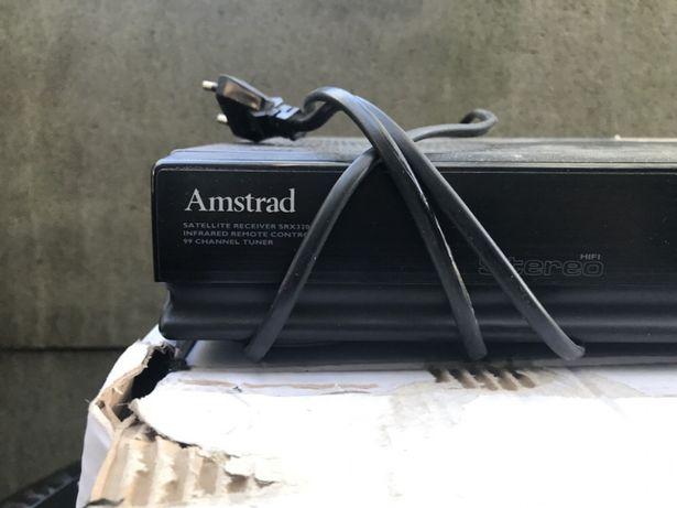 Tuner satelitarny analogowy AMSTRAD model srx 350