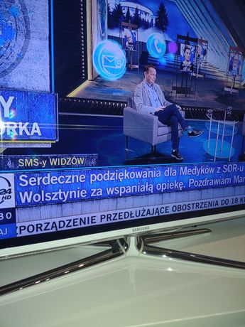"Tv Samsung 46"" biała ramka"